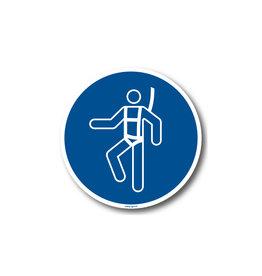 BrouwerSign M018 - Veiligheidsharnas verplicht