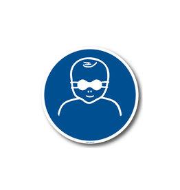 BrouwerSign M025 - Oogbescherming voor kinderen verplicht