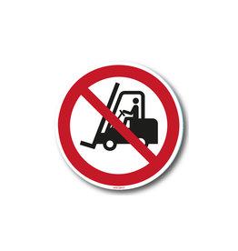 safety-signs.nl P006 - Verboden voor heftrucks