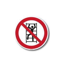 safety-signs.nl P009 - Klimmen verboden