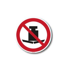safety-signs.nl P012 - Geen zware last plaatsen