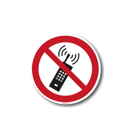 safety-signs.nl P013 - Mobiele telefoon verboden