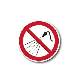 safety-signs.nl P016 - Verboden te besproeien met water