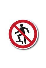 safety-signs.nl Pictogram - P019 - Verboden het oppervlak te betreden - ISO 7010