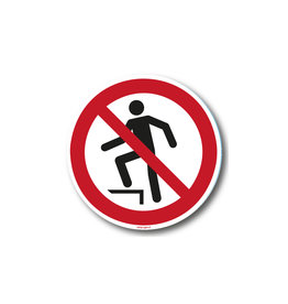safety-signs.nl P019 - Verboden het oppervlak te betreden