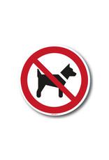 safety-signs.nl Pictogram - P021 - Dieren verboden - ISO 7010