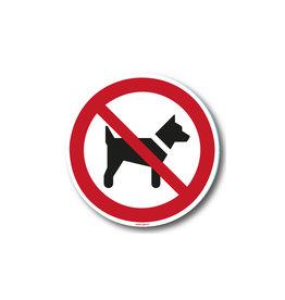 safety-signs.nl P021 - Dieren verboden