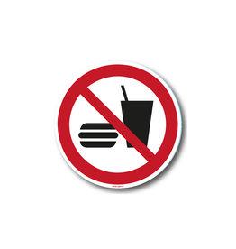 safety-signs.nl P022 - Eten en drinken verboden