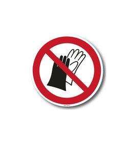 safety-signs.nl P028 - Dragen van handschoenen verboden