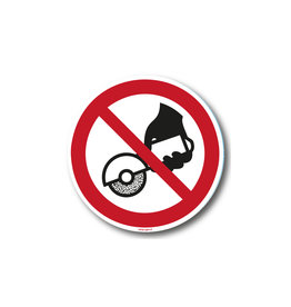 safety-signs.nl P034 - Verboden met de hand te slijpen