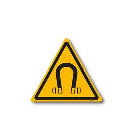 safety-signs.nl W006 - Waarschuwing sterk magnetisch veld
