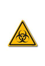 safety-signs.nl Pictogram - W009 - Waarschuwing biologisch besmettingsgevaar - ISO 7010