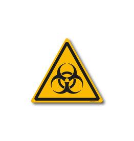 safety-signs.nl W009 - Waarschuwing biologisch besmettingsgevaar