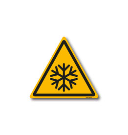 safety-signs.nl W010 - Waarschuwing lage temperaturen