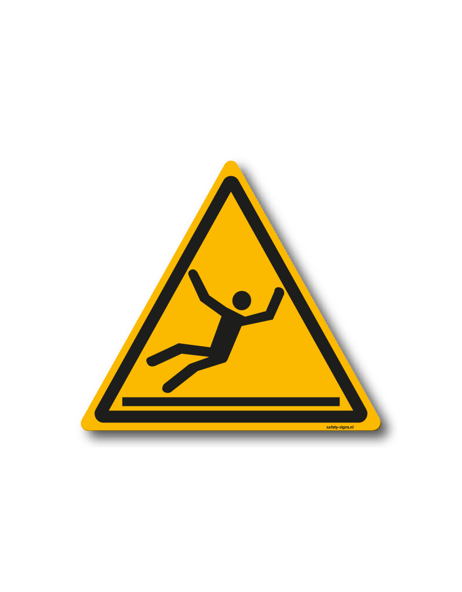 safety-signs.nl Pictogram - W011 - Waarschuwing glad oppervlak - ISO 7010