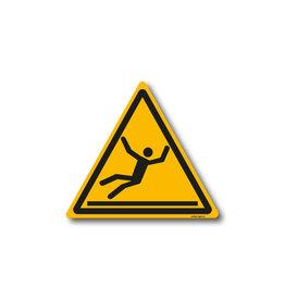 safety-signs.nl W011 - Waarschuwing glad oppervlak