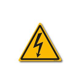 safety-signs.nl W012 - Waarschuwing gevaarlijke elektrische spanning