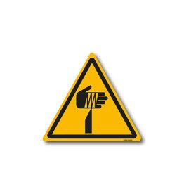 safety-signs.nl W022 - Waarschuwing scherpe elementen