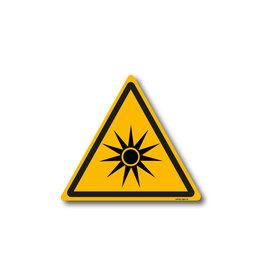 safety-signs.nl W027 - Waarschuwing optische straling