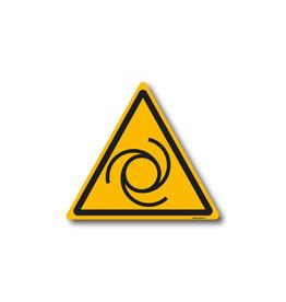 safety-signs.nl W018 - Waarschuwing automatisch startende machine