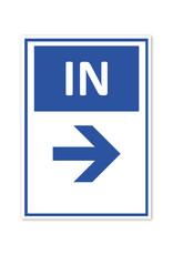Sticker - IN - Trefpunt rechts