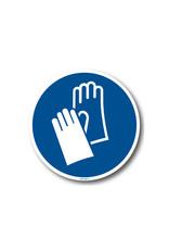 BrouwerSign Gebod - Dragen van handschoenen verplicht