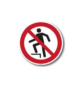 safety-signs.nl Verbod - Betreden trap
