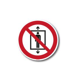 safety-signs.nl Verbod - Liftgebruik verboden