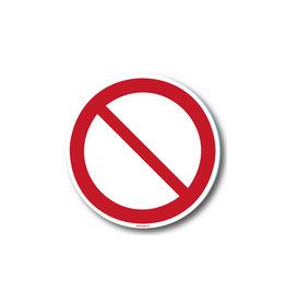 safety-signs.nl Verbod - Niet gebruiken
