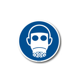 BrouwerSign M017 - Ademhalingsbescherming verplicht