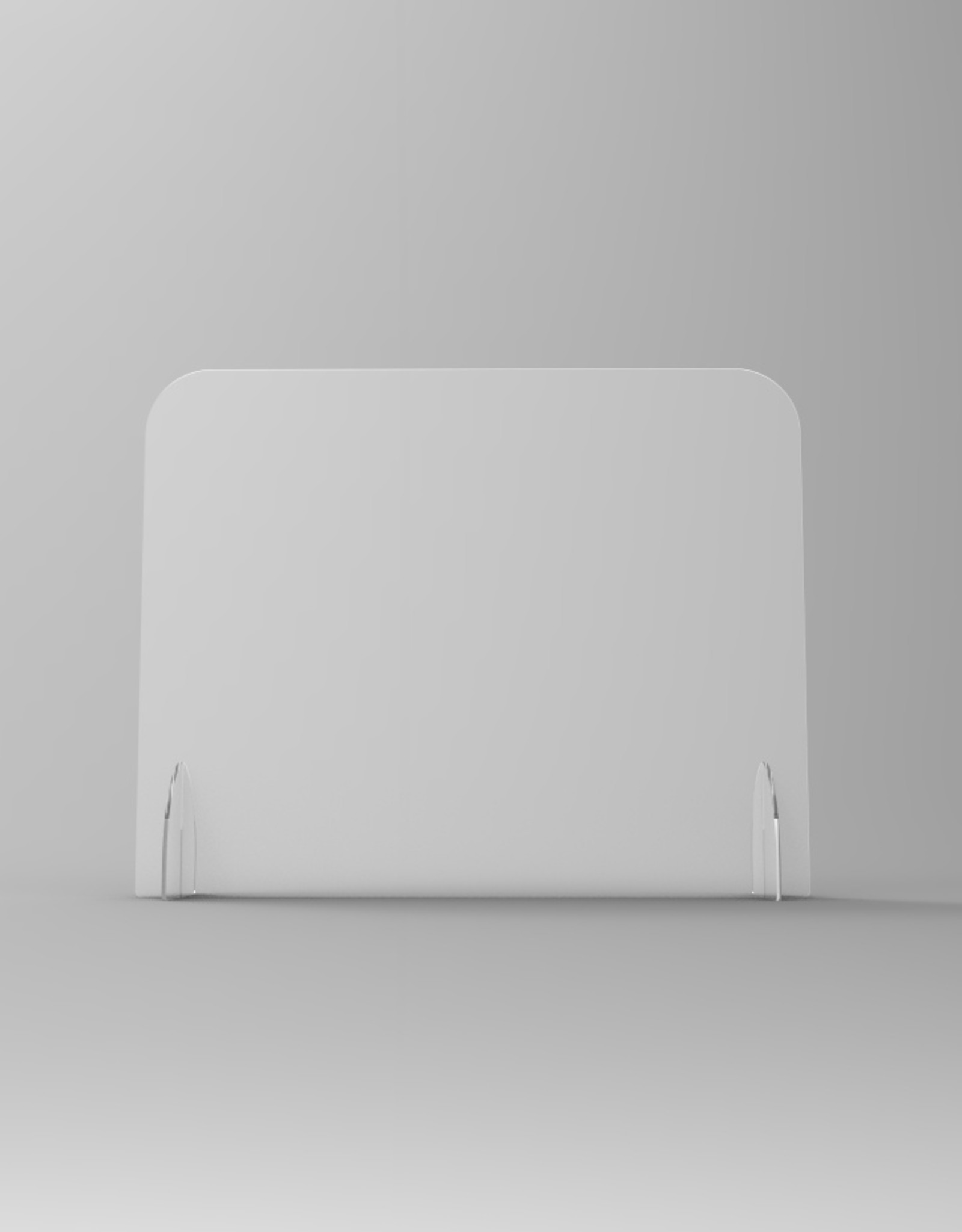 Brouwer Sign SaveScreen baliescherm glashelder 100x80cm(zonder uitsparing)