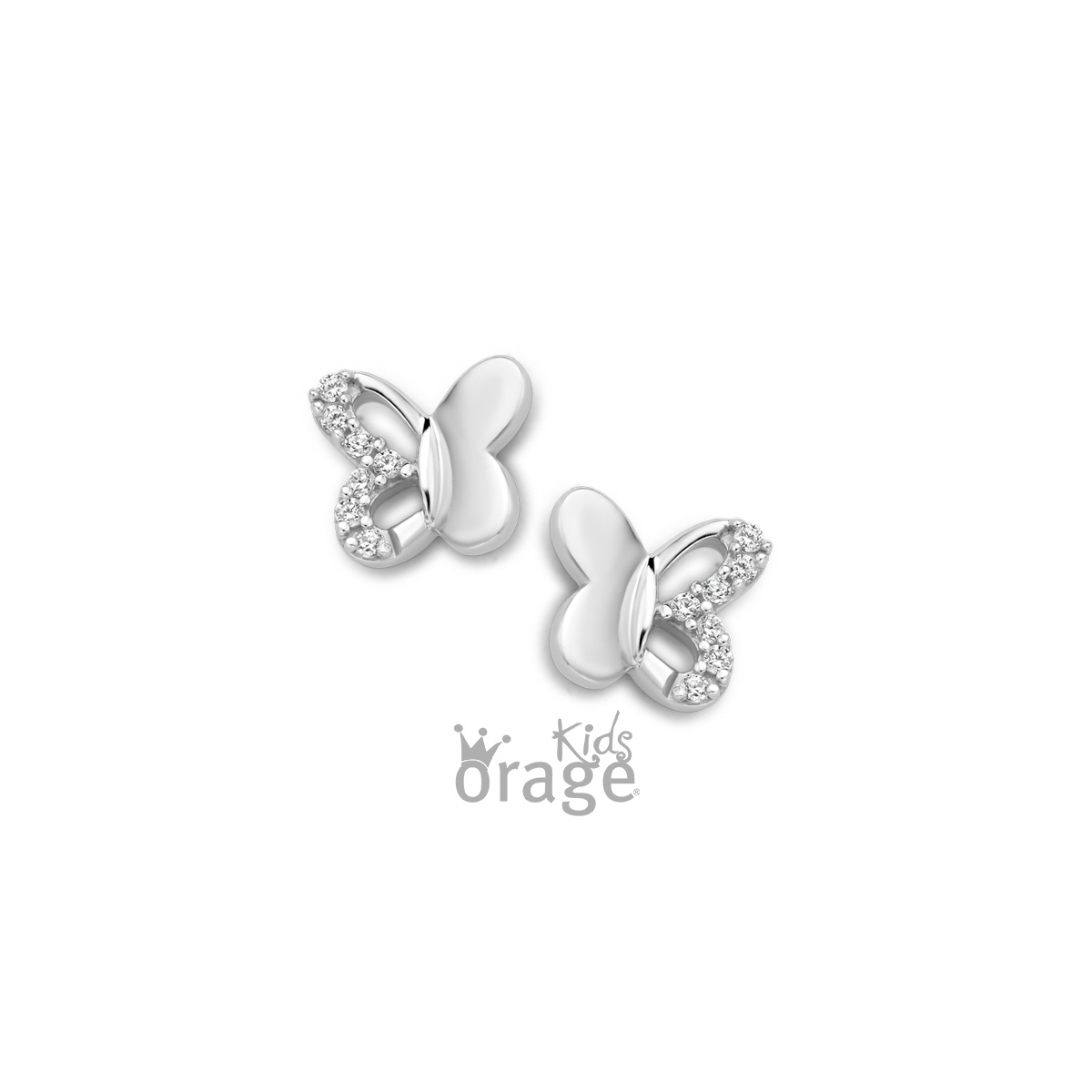 Orage kids Oorringen vlinder