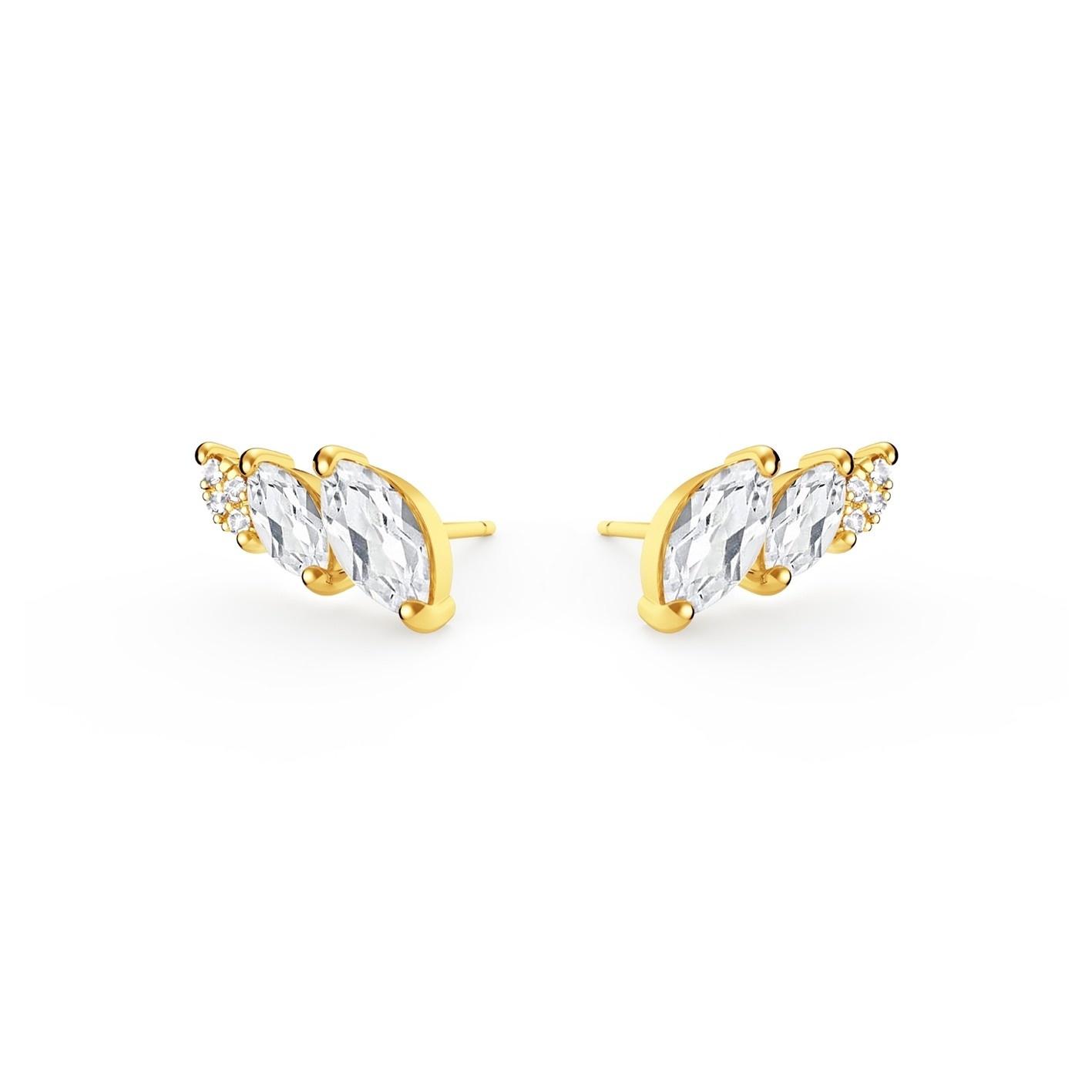 Diamanti per tutti Diamanti per tutti - Swan Earrings