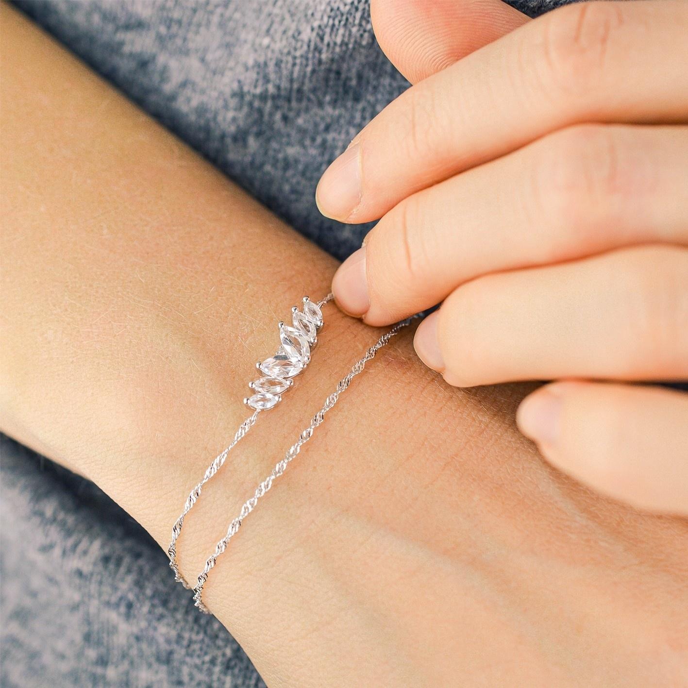 Diamanti per tutti Diamanti per tutti - Swan bracelet