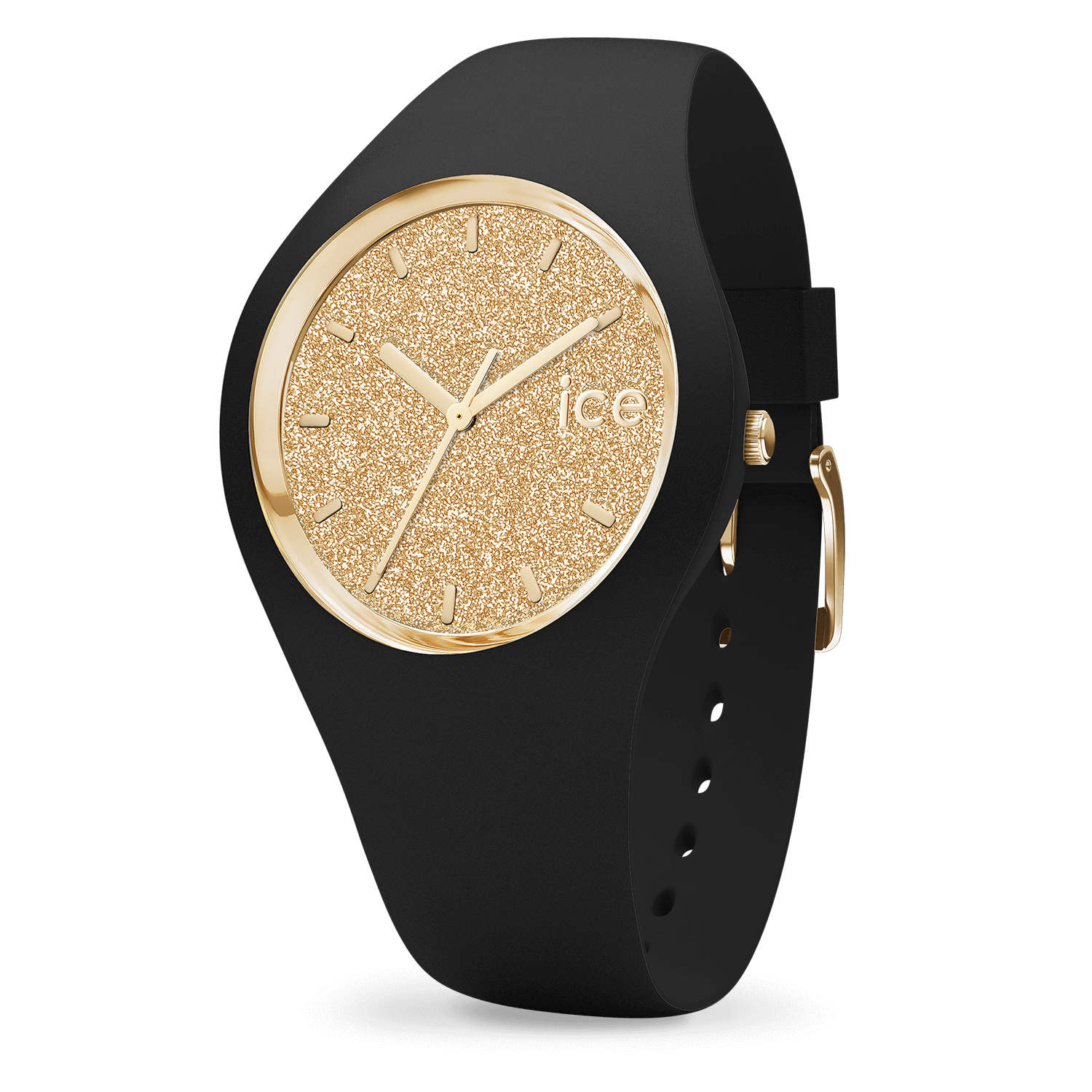 Ice Watch ICE glitterBlack Gold small