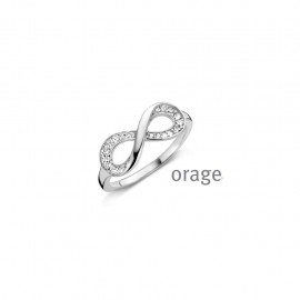 Orage Ring infinity zilver