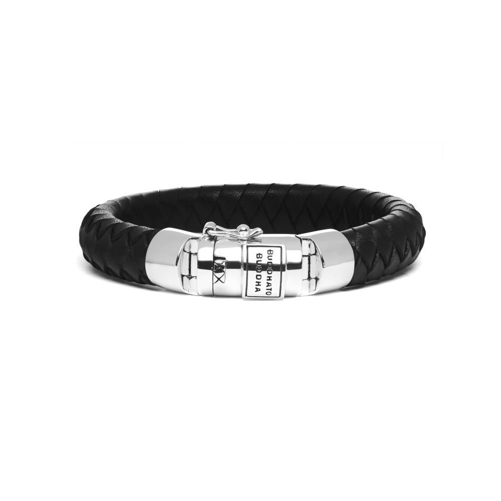 Bhudda To Buddha Armband Ben Leer Zwart