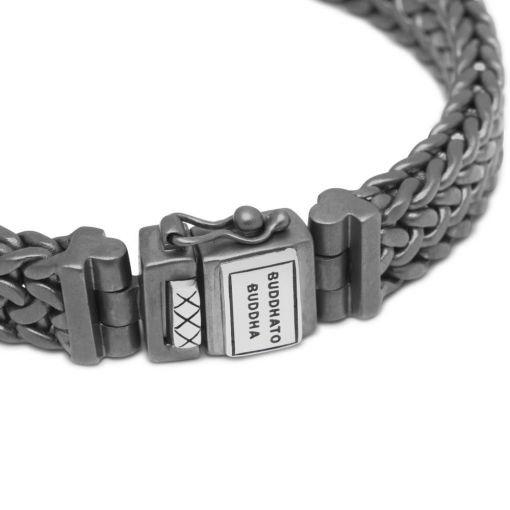 Bhuddha To Buddha Julius Bracelet Black Rhodium Silver