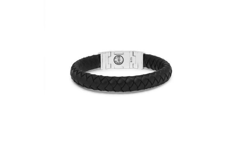 Bhuddha To Buddha Ben Customized Set Silver & Leather Black