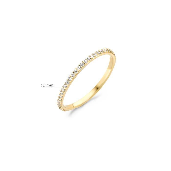 Blush Blush Ring 1201YZI - Geel Goud (14krt.)