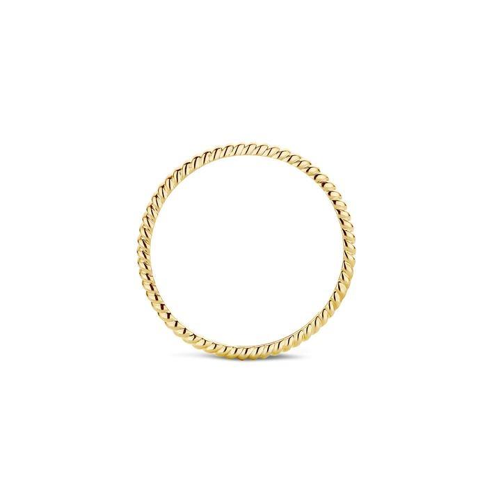 Blush Blush Ring 1196YGO - Geelgoud (14Krt.)
