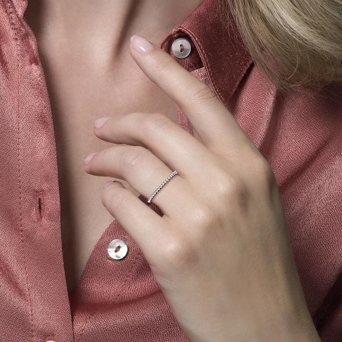 Blush Blush Ring 1195WGO - Witgoud (14krt.)