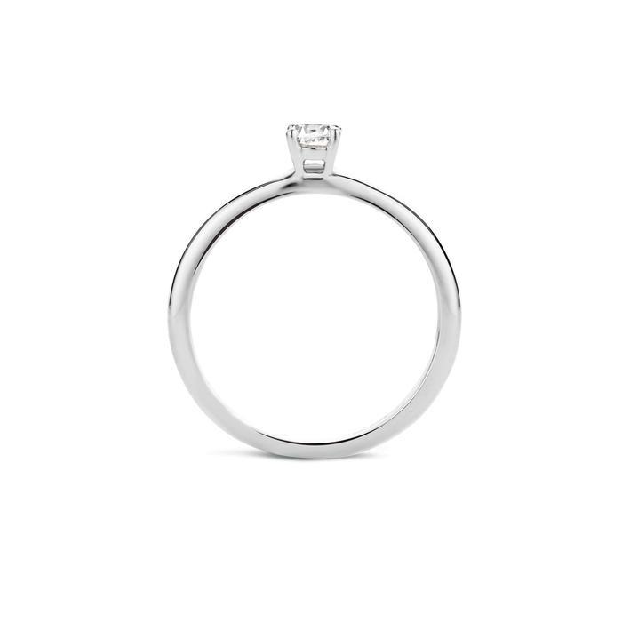 Blush Blush Ring 1132WZI - Wit Goud (14Krt.) met Zirconia