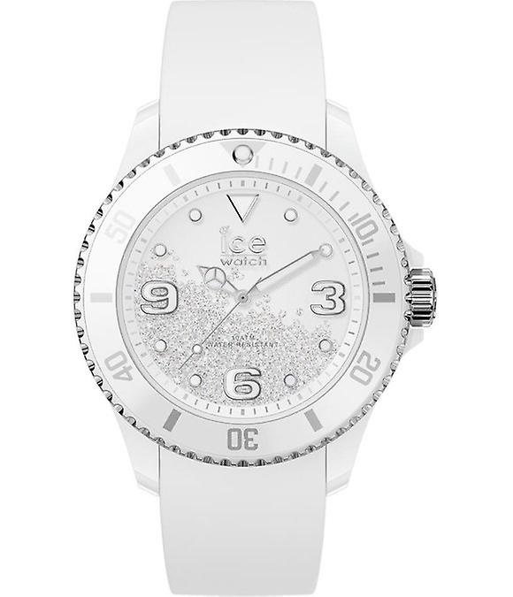Ice Watch ICE crystal - White silver - Smooth - Medium - 3H