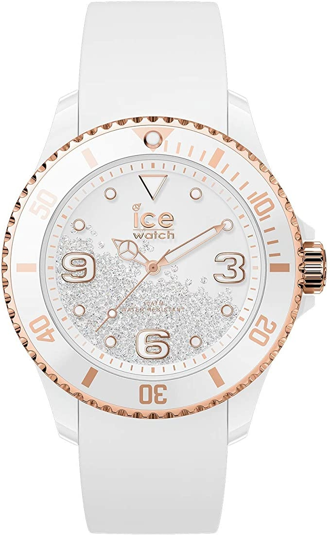 Ice Watch ICE crystal - White gold - Smooth - Medium - 3H