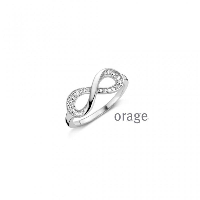 Orage V1319-AN067 Ring infinity 925 rh c