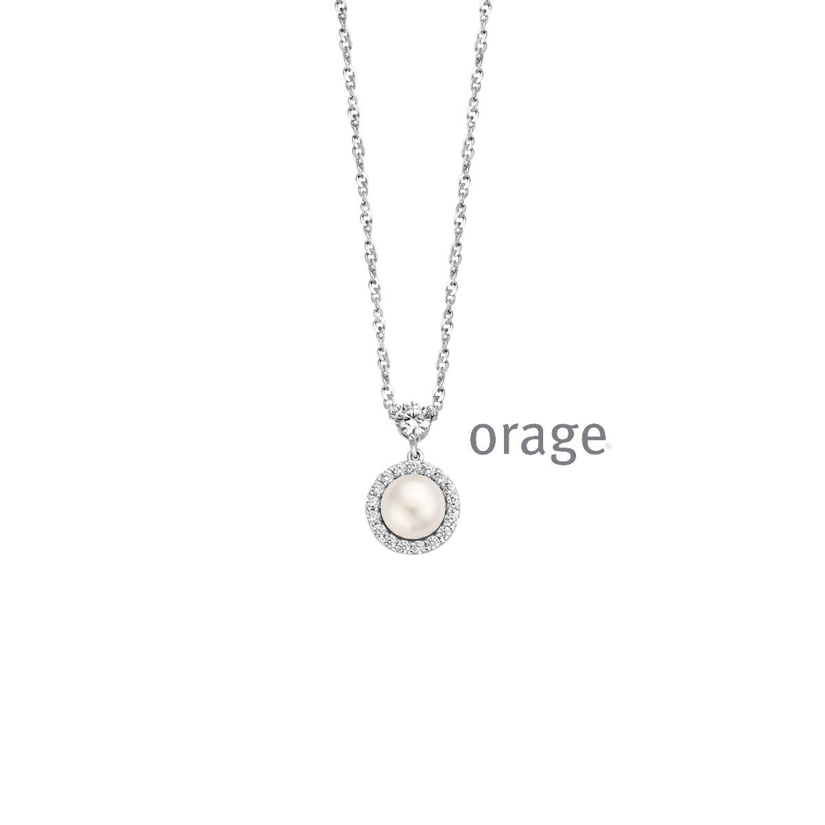 Orage AR103 ketting zilver