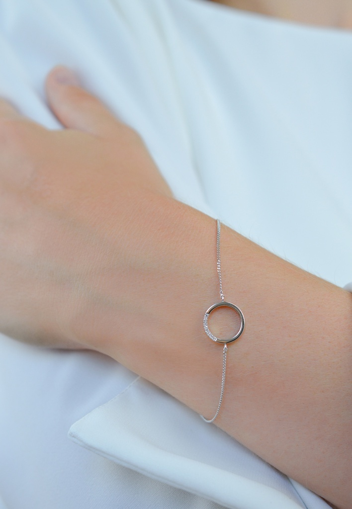 Diamanti per tutti Small Circle of Life Bracelet
