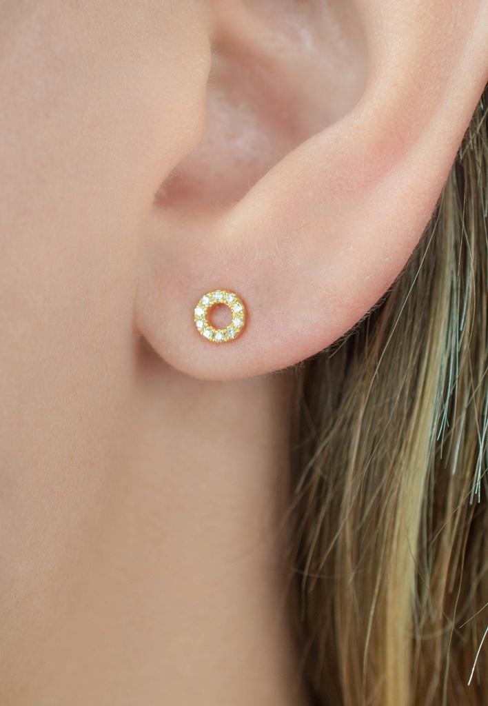 Diamanti per tutti Diamanti per tutti - Small Circle of Life Earring