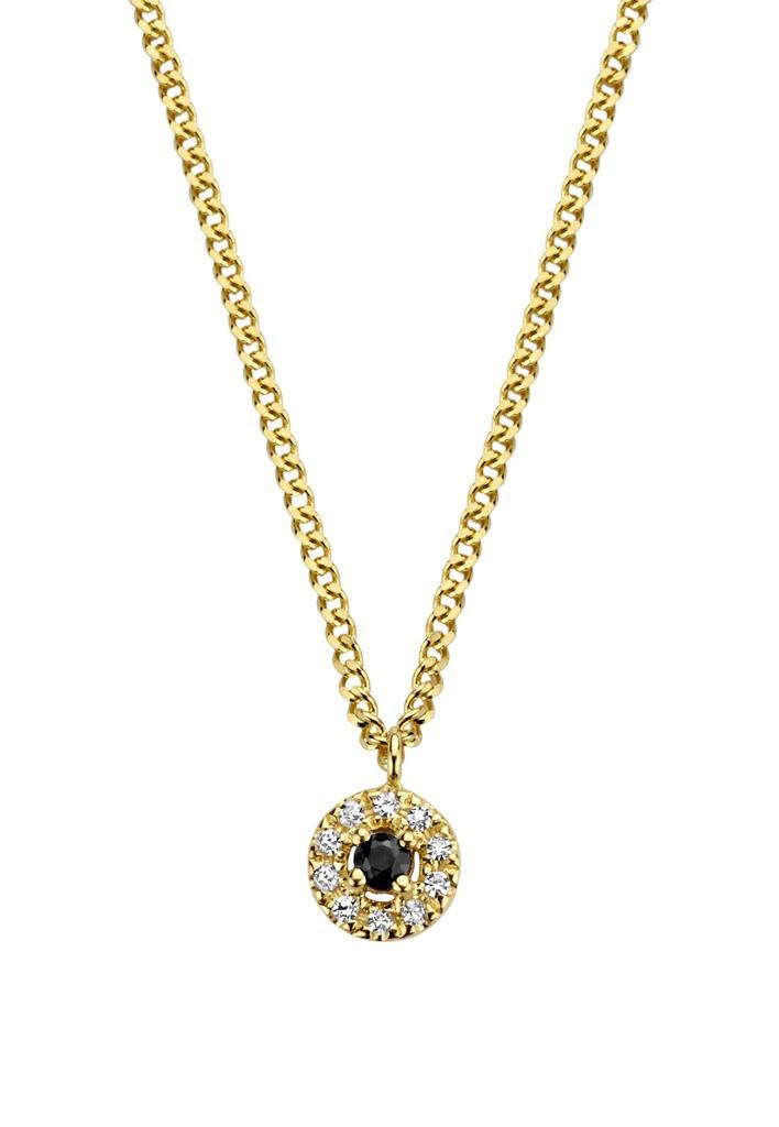 Diamanti per tutti Black Halo Necklace